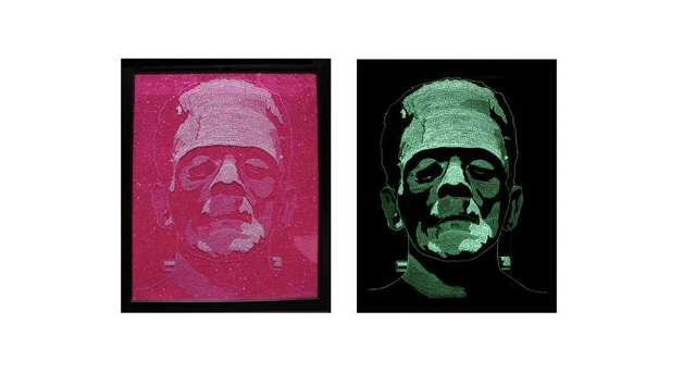 "A portrait of Frankenstein from Ethan Moore's exhibit ""After-Life"" Photo: Ethan Moore, Courtesy"