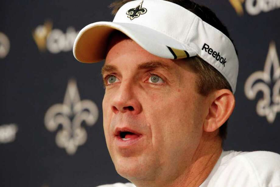 Coach Sean Payton might be a free agent after he is reinstated. Photo: AP