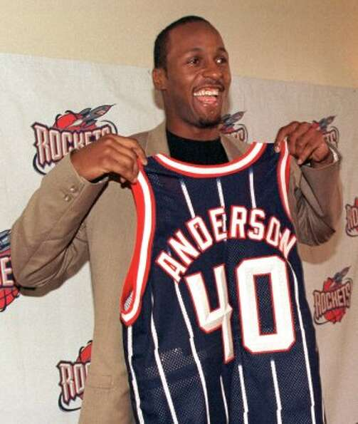 40 - Shandon Anderson: Anderson was signed from the Jazz after they reached the NBA Finals in ba