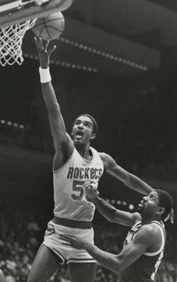 RALPH SAMPSON --He was drafted No. 1 overall out of Virginia in the 1983 NBA draft and was an all-star each of his four full seasons in Houston before knee problems dodged him the rest of his nine-year career. Sampson averaged 19.7 points and 10.4 rebounds in Houston.