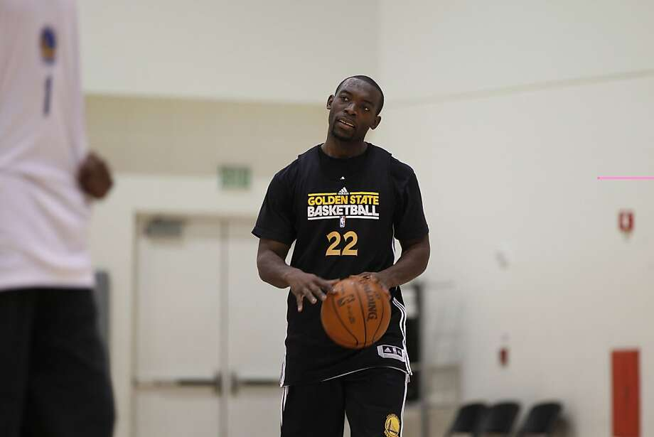 Golden State Warriors 2011 draft pick Charles Jenkins (22) drives the ball up court during first day of training camp at Golden State Warriors Training Facility in Oakland, Calif. on Friday, Dec. 9, 2011. Photo: Stephen Lam, Special To The Chronicle