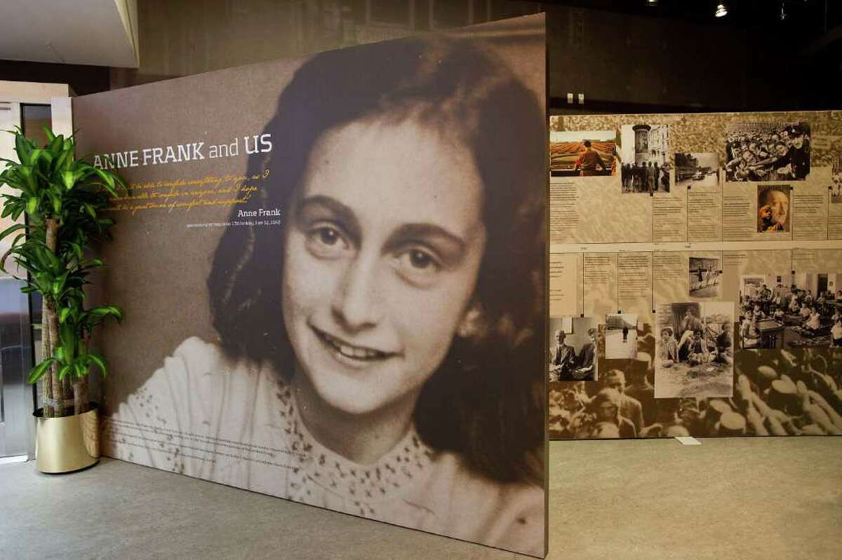 NEW YORK, NY - MARCH 26: The entrance of the Anne Frank Center USA is seen on March 26, 2012 in New York City. The center, which opened on March 15, 2012, attempts to inspire tolerance by sharing about the life and thoughts of Anne Frank, a victim of the Holocaust.
