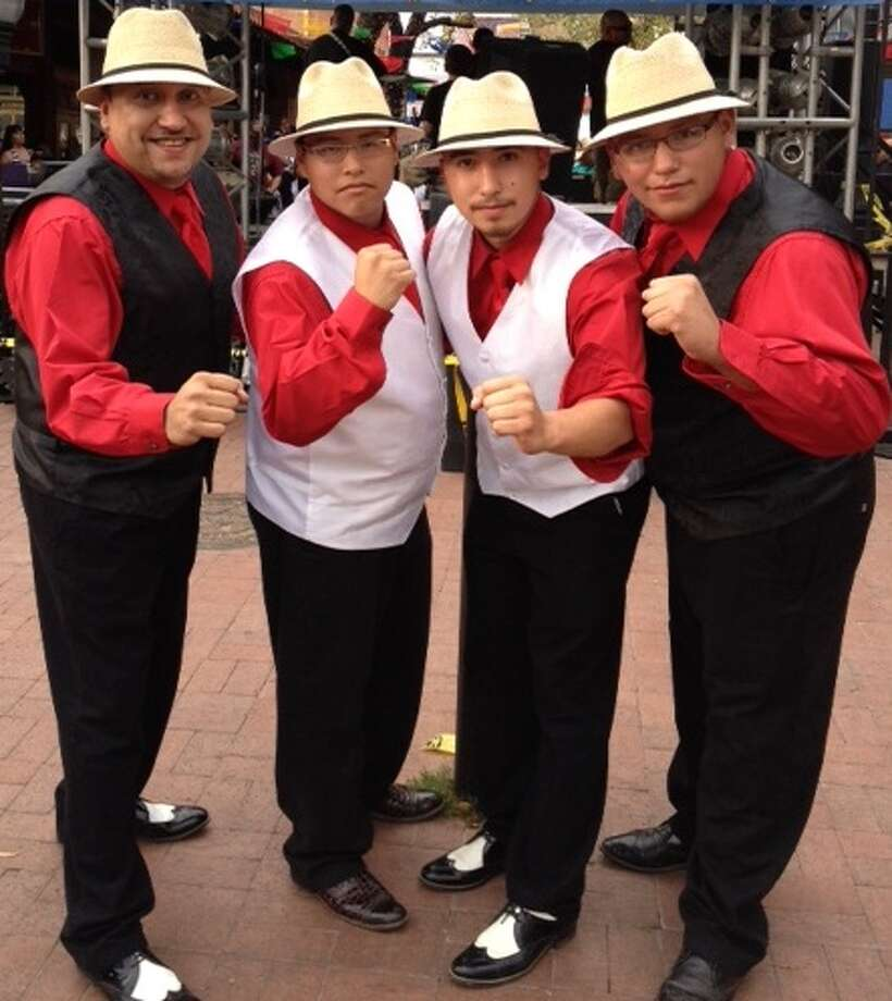 Conjunto Romo, a family conjunto group from Kyle Photo: Courtesy Photo