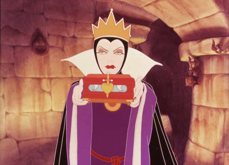"Evil Queen in Disney's 1937 ""Snow White and the Seven Dwarfs."" Photo: Disney"