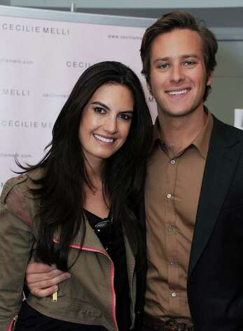 "E! News' Elizabeth Chambers and husband, actor Armie Hammer, will be very ""hands-on"" at their Broadway Street bakery. Photo: Katy Winn, Getty Images / 2012 Getty Images"