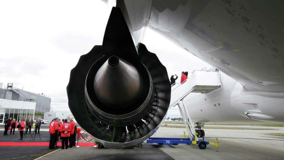 The Federal Aviation Administration required additional checks of GEnx engines -- the other engine option for the 787 and exclusive engine of the 747-8 -- in September 2012, after one engine failed because of a cracked fan mid-shaft and an inspection found a crack in another engine fan mid-shaft. Photo: AP