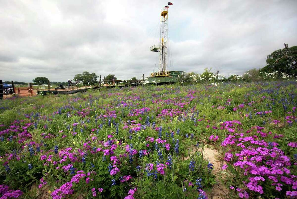 A new well in southern Bexar County will extract saltwater from the brackish Wilcox Aquifer on Tuesday, March 27, 2012.