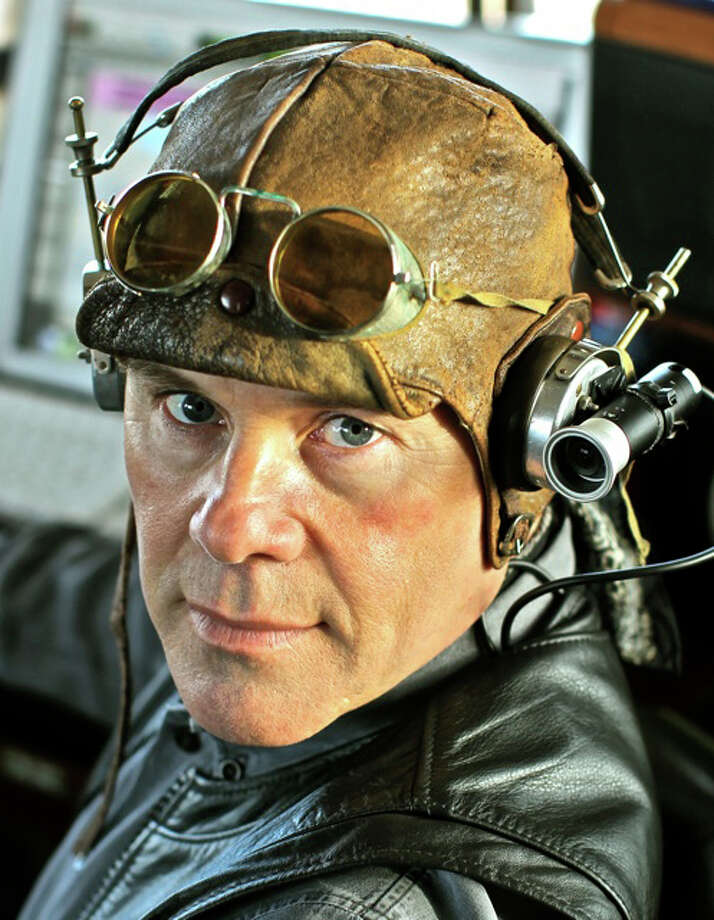 """Thomas Dolby is a musician with the look of a lab-coat technician, but he gave us the synth pop tunes """"She Blinded Me With Science"""" and ìHyperactive,î which became the highest-charting single in England, in the 1980s. This Saturday, March 31, at The Ridgefield Playhouse at 8 p.m., Dolby will be in concert dragging his retro-looking Time Capsule behind him. A five-time Grammy winner, Dolby has been making synth music for more than 30 years and has a new album, A Map of the Floating City. On Saturday ticket holders can go inside Dolbyís Time Capsule, parked outside The Ridgefield Playhouse, and record a video message for YouTube and posterity. Photo: Contributed Photo"""