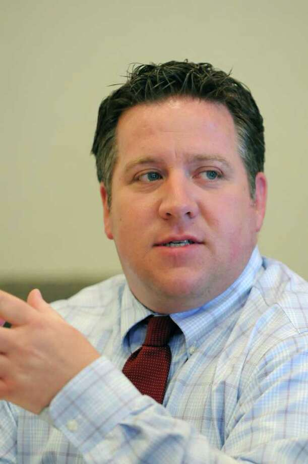 Daniel P. McCoy, Albany County Executive, during a Times Union editorial board meeting Thursday March 22, 2012 in Colonie, N.Y. (Will Waldron / Times Union) Photo: WW