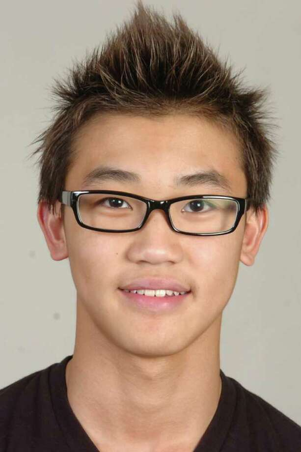 Sherman Lau-753 Norwalk swimming High school sports all star Photo: Ned Gerard / Connecticut Post