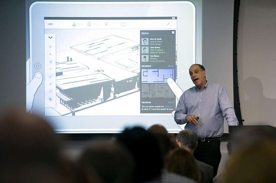 Carl Bass, president and chief executive officer of Autodesk Inc., speaks during an event in San Francisco, California, U.S., on Tuesday, March. 27, 2012. Autodesk Inc., maker of architectural and engineering software, unveiled new design tools and a revamped cloud-computing platform called Autodesk 360 that lets customers use the programs over the Internet. Photographer: David Paul Morris/Bloomberg *** Local Caption *** Carl Bass Photo: David Paul Morris, Bloomberg