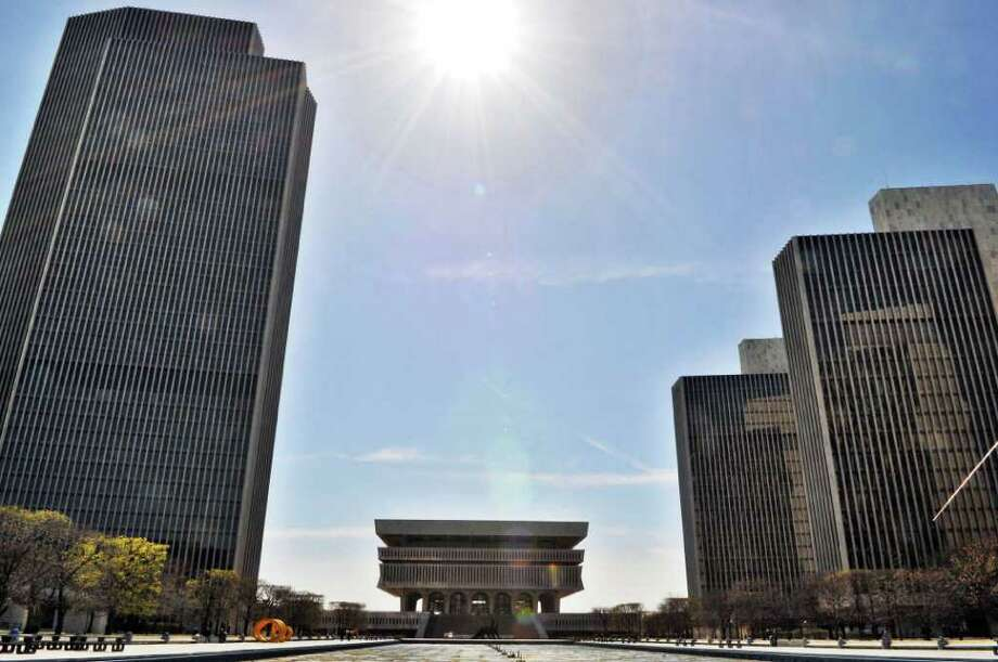 The Empire State Plaza Tuesday March 27, 2012.    (John Carl D'Annibale / Times Union) Photo: John Carl D'Annibale / 00016999A