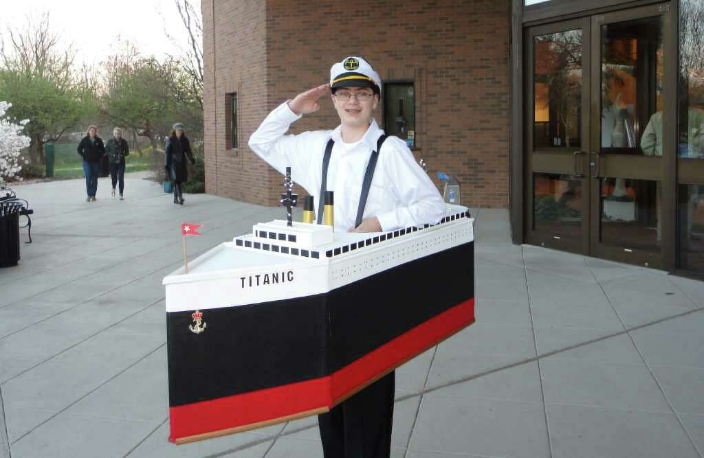 Author Rides Tide Of Interest In Titanic On Disasters Centennial - Cruise ship costume