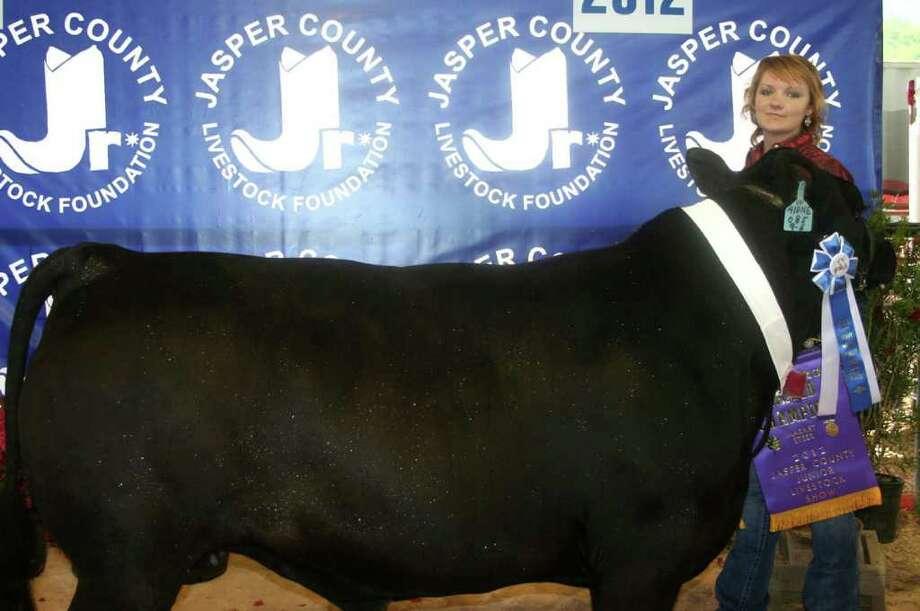 Grand champion steer Photo: Jodie Warner