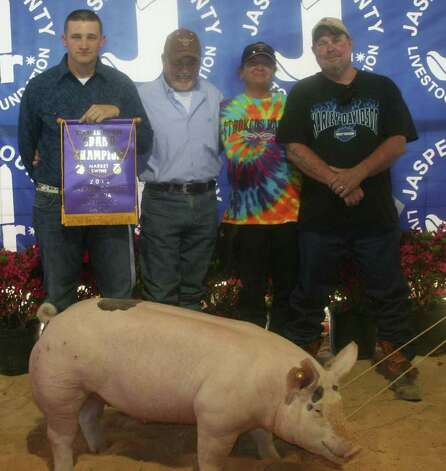 Grand Champion hog Photo: Jodie Warner