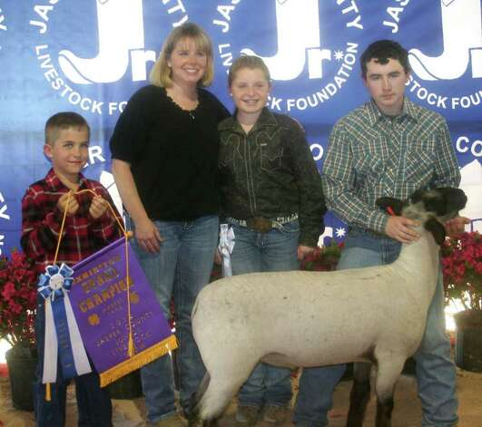 Grand champion lamb Photo: Jodie Warner