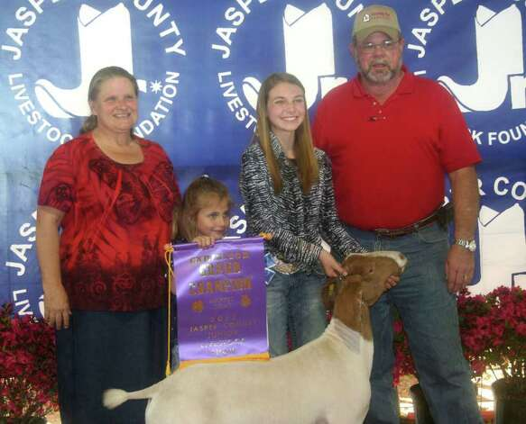 Grand champion goat Photo: Jodie Warner