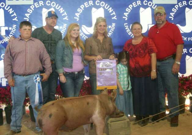 Reserve champion hog Photo: Jodie Warner