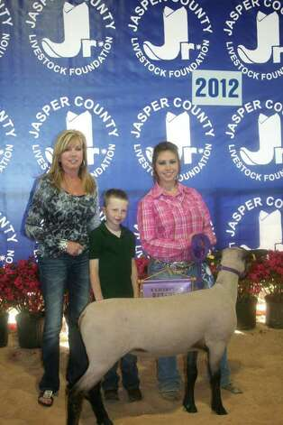 Reserve champion Lamb Photo: Jodie Warner