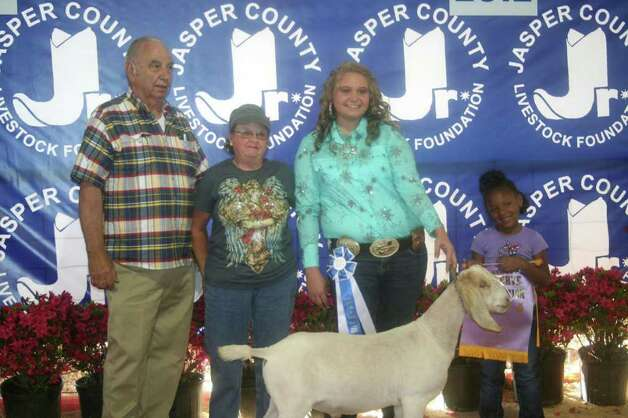 Reserve champion goat Photo: Jodie Warner