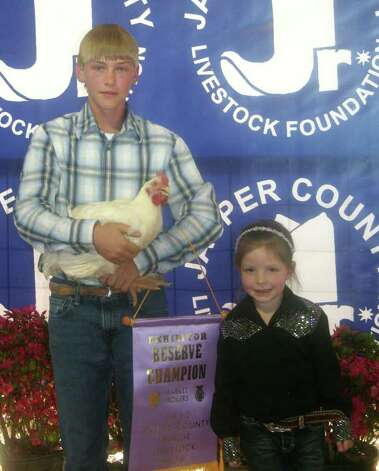 Reserve champion broilers Photo: Jodie Warner