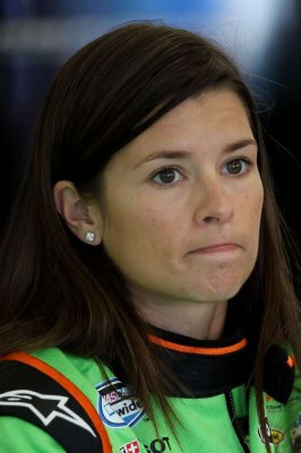 Danica Patrick, March 25.  (Ezra Shaw / Getty Images)