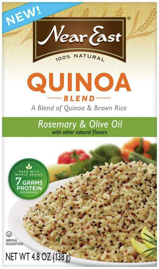 Near East's new Quinoa Blend, which combines quinoa (pronounced KEEN-wah) with brown rice, is a great, healthful side dish. Photo: Courtesy Photo