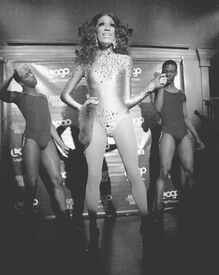 The winner of  season one of RuPaul's Drag Race, Bebe Zahara Benet performs at Logo's RuPaul's Drag Race Finale at Therapy Bar on April 26, 2010 in New York City.  (Photo by Astrid Stawiarz/Getty Images for SPI Marketing) Photo: Astrid Stawiarz / 2010 Getty Images