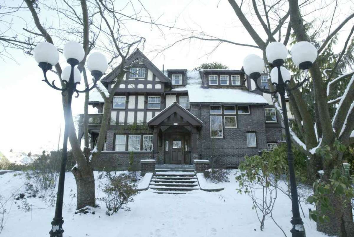 The front walkway of the Hainsworth House is shown in this file photo from Jan. 11, 2007.