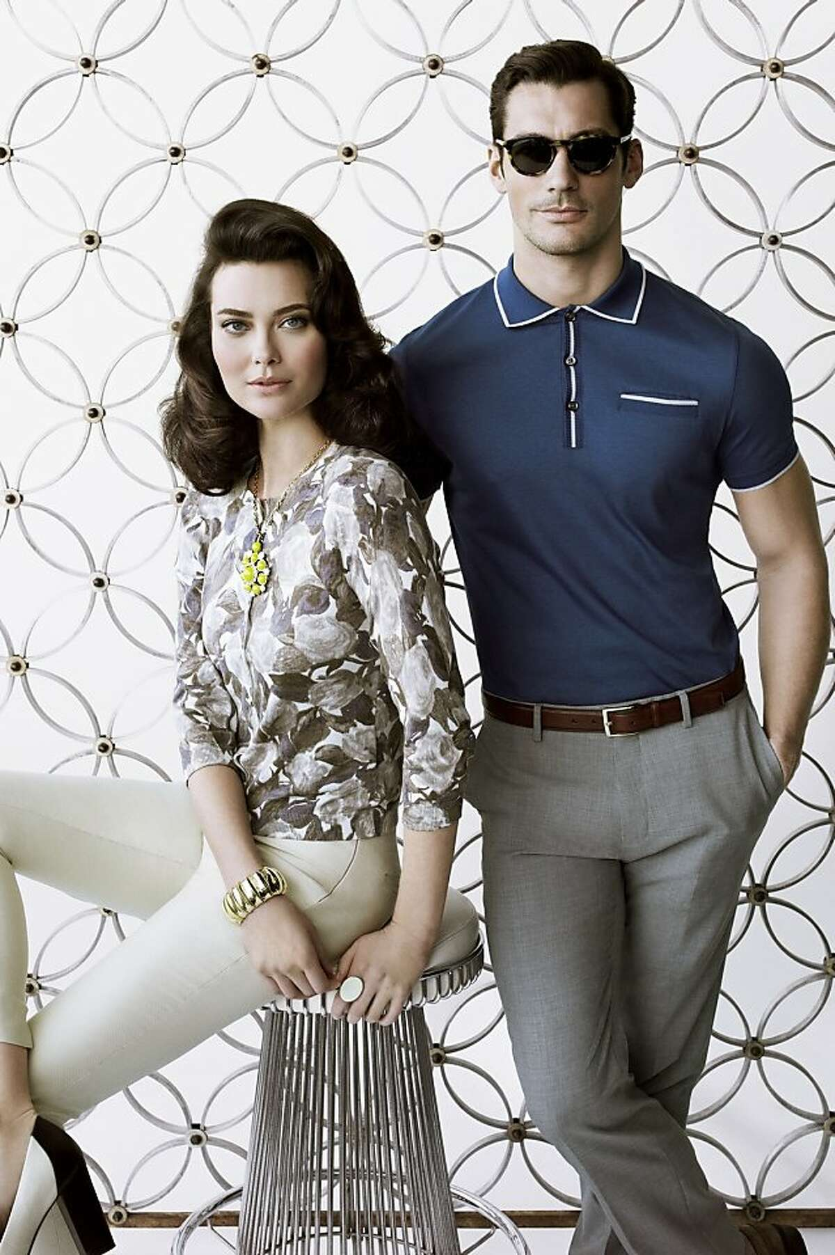 """Images from the Banana Republic collection inspired by """"Mad Men."""""""