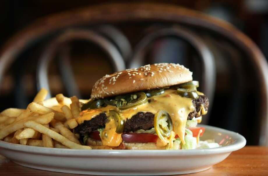 Good Time Charlie's is the winner of the inaugural Burger Madness tournament. (Bob Owen / San Antonio Express-News)