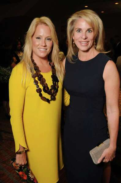 Jill Faucetta and Bethany Hughes at the 30th Annual Houston Chronicle Best Dressed Luncheon at the W