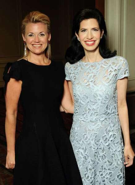 Honorees Millette Sherman and Kelli Cohen Fein at the 30th Annual Houston Chronicle Best Dressed Lun
