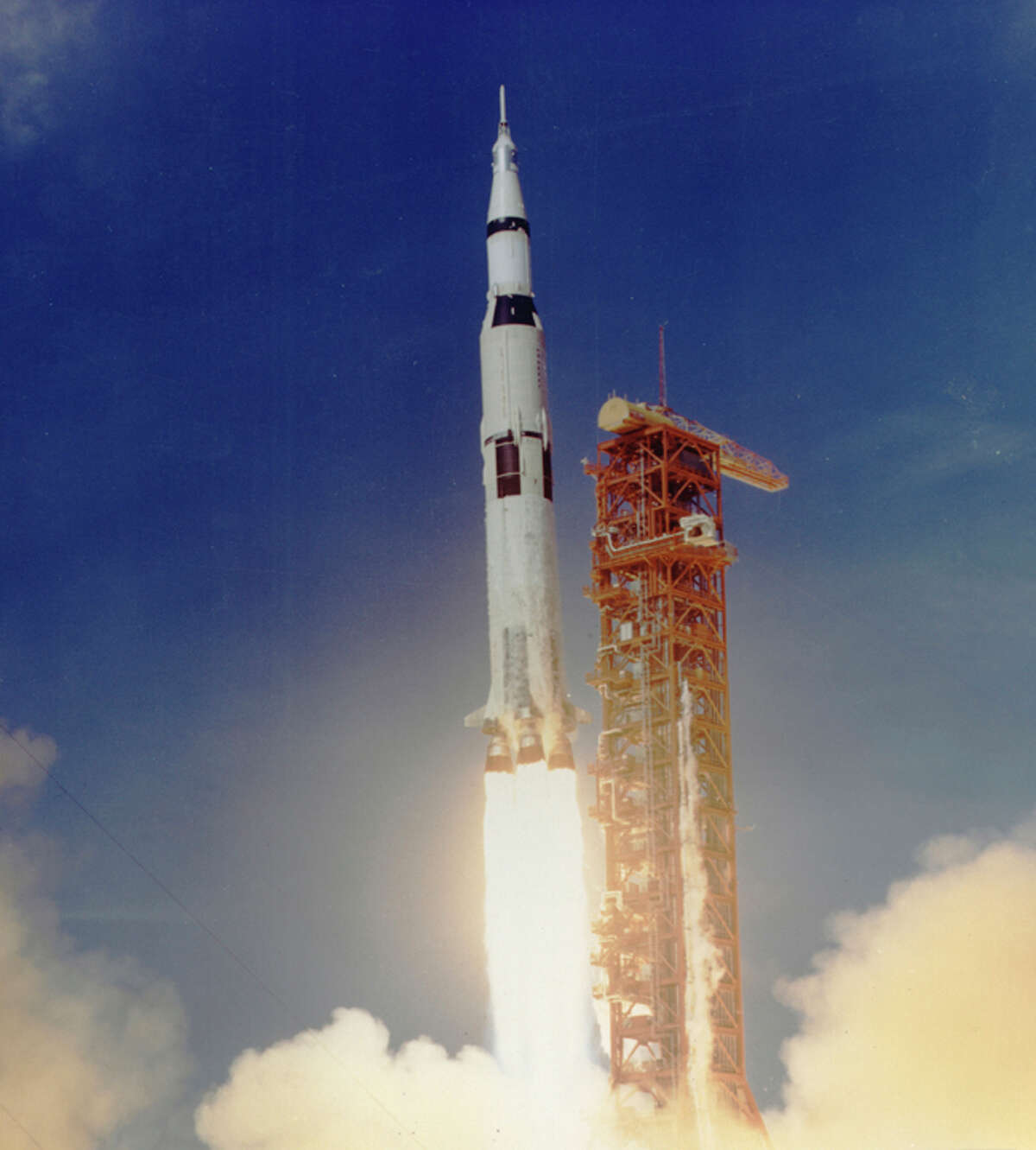 Apollo 11 Liftoff of Apollo 11, from Florida's Kennedy Space Center on July 16, 1969.