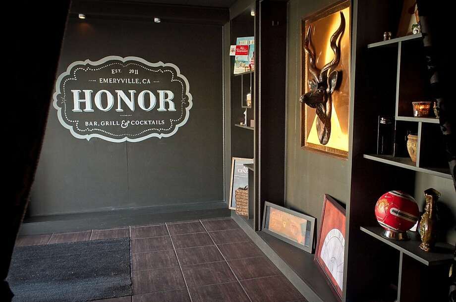 The entryway to the Honor Bar in Emeryville,  Calif., is seen on Friday, March 23rd, 2012. Photo: John Storey