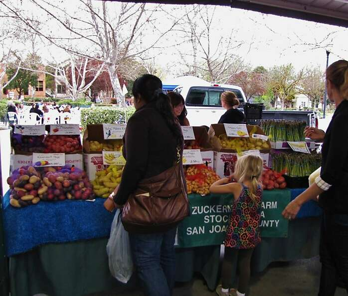 High-quality vendors mark the Davis market.