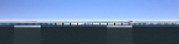 New SR 520 floating bridge Photo: Washington State Department Of Transportation / WSDOT