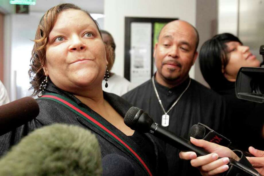 Juanita Aguillard has legal custody of the Morins' four other children, and would like to have Miguel Morin, 8, join his brothers and sisters. Photo: Mayra Beltran / © 2012 Houston Chronicle