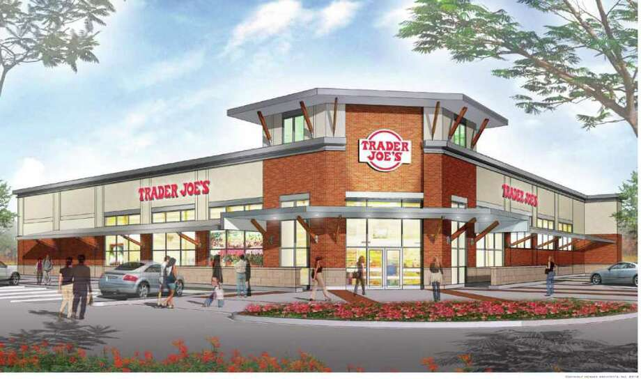 This rendering provided by the company shows how the Trader Joe's store will look in the Memorial area. The location at  1440 S. Voss will be 14,000 square feet. The California-based grocer has more than 365 stores in 32 states. Photo: Trader Joe's