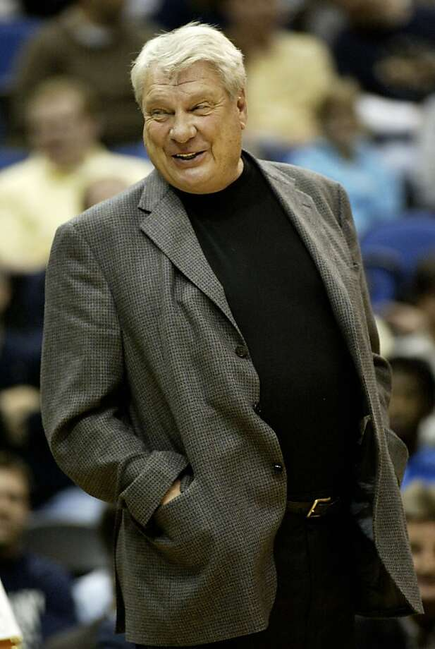 In this April 7, 2010, file photo, Golden State Warriors coach Don Nelson smiles on the sideline during the first half of an NBA basketball game in Minneapolis. Photo: Paul Battaglia, AP