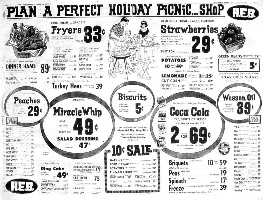 A Memorial Day ad for H-E-B.