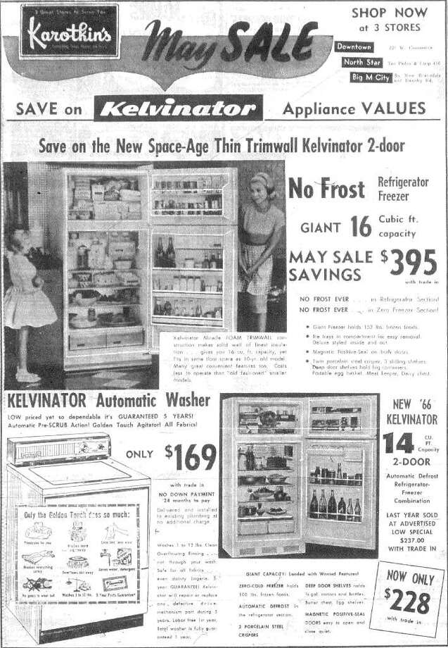 That $395 refrigerator would cost the equivalent of $2,624.31 in 2010.