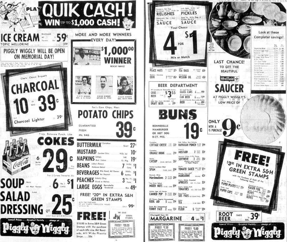 Kids, there was a time when San Antonio had supermarkets other than H-E-B. And that time was 1966.
