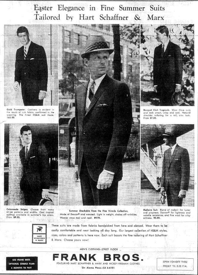 That sharp sharkskin suit that cost $89.95 in 1966 would run $597.61 in 2010.