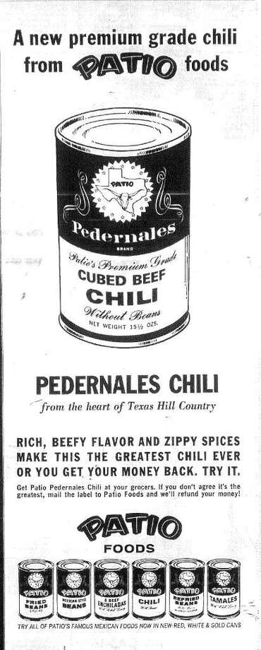 Founded by Louis Herbert Stumberg, Patio Foods was a San Antonio company that took frozen Tex-Mex foods nationwide.