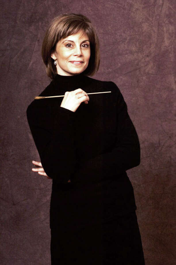 Joann Falletta, guest conductor at the Albany Symphony Orchestra, will be leading performances of Carl Orff's Carmina Burana (Photo by Mark Dellas)