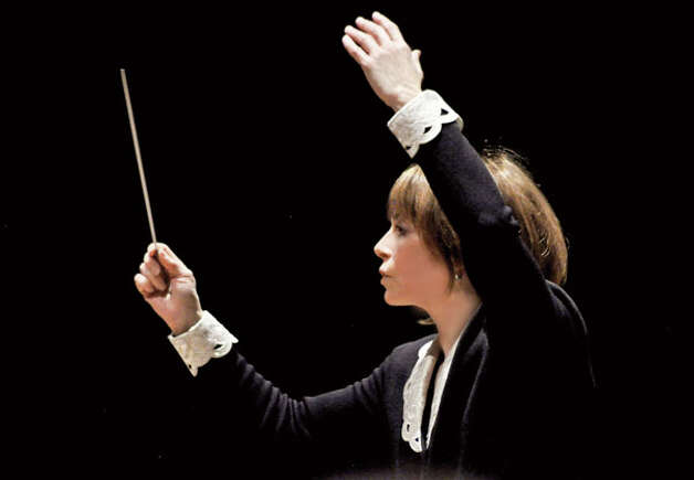 Albany Symphony Orchestra, with Albany Pro Musica performs with guest conductor Joann Falletta at the Palace Theatre Saturday, April 21, 7:30 p.m. For tickets, call (518) 465-4663, ext. 2. (Photo by David Adam Beloff)