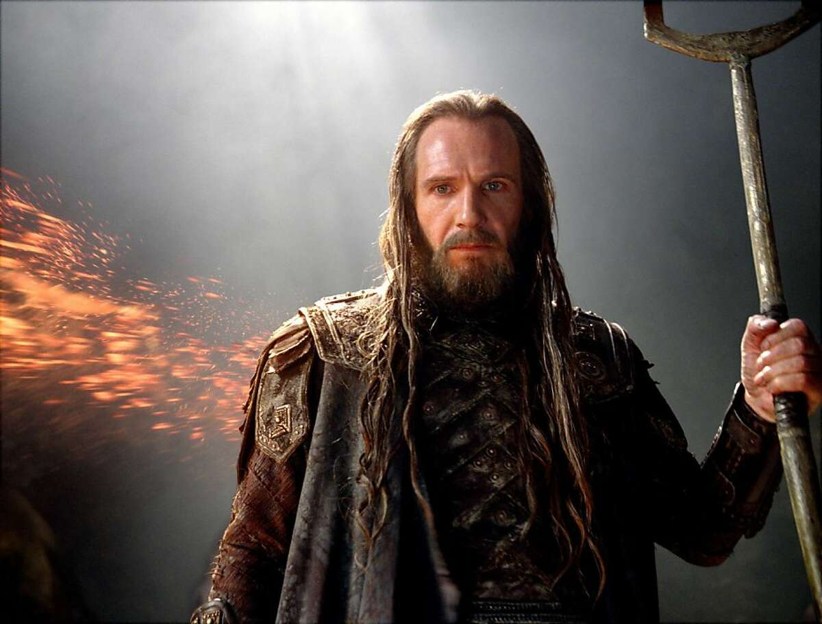 RALPH FIENNES as Hades in Warner Bros. Pictures?• and Legendary Pictures?• action adventure ?'WRATH OF THE TITANS,?