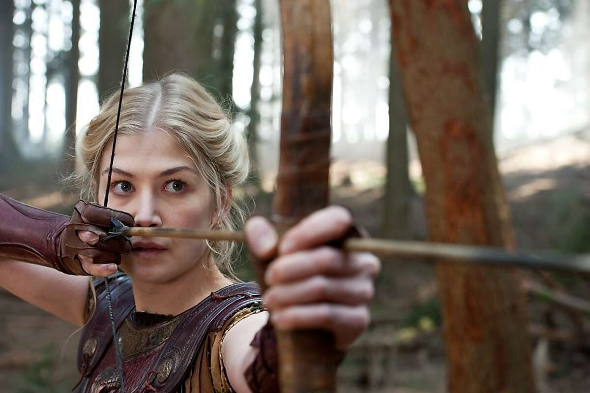 ROSAMUND PIKE as Andromeda in Warner Bros. Pictures?• and Legendary Pictures?• action adventure ?'WRATH OF THE TITANS,?