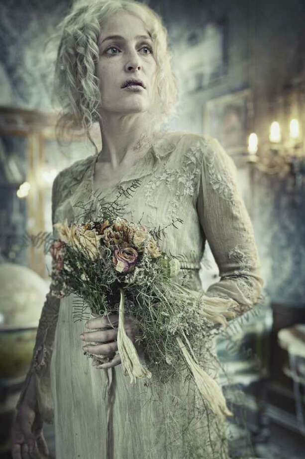 "Gillian Anderson stars as the sad and vengeful Miss Havisham in ""Great Expectations"" on Materpiece Classic. Photo: Todd Antony, Todd Antony/Courtesy"